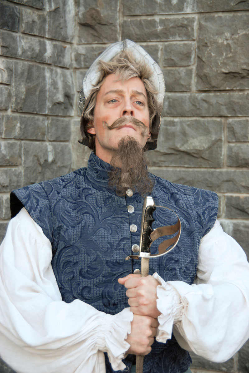 Leif Norby in Man of La Mancha at Lakewood Theatre Company, April 29 - June 12, 2016