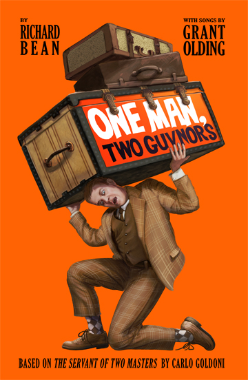 One Man, Two Guvnors at Lakewood Theatre Company, Lake Oswego, Oregon