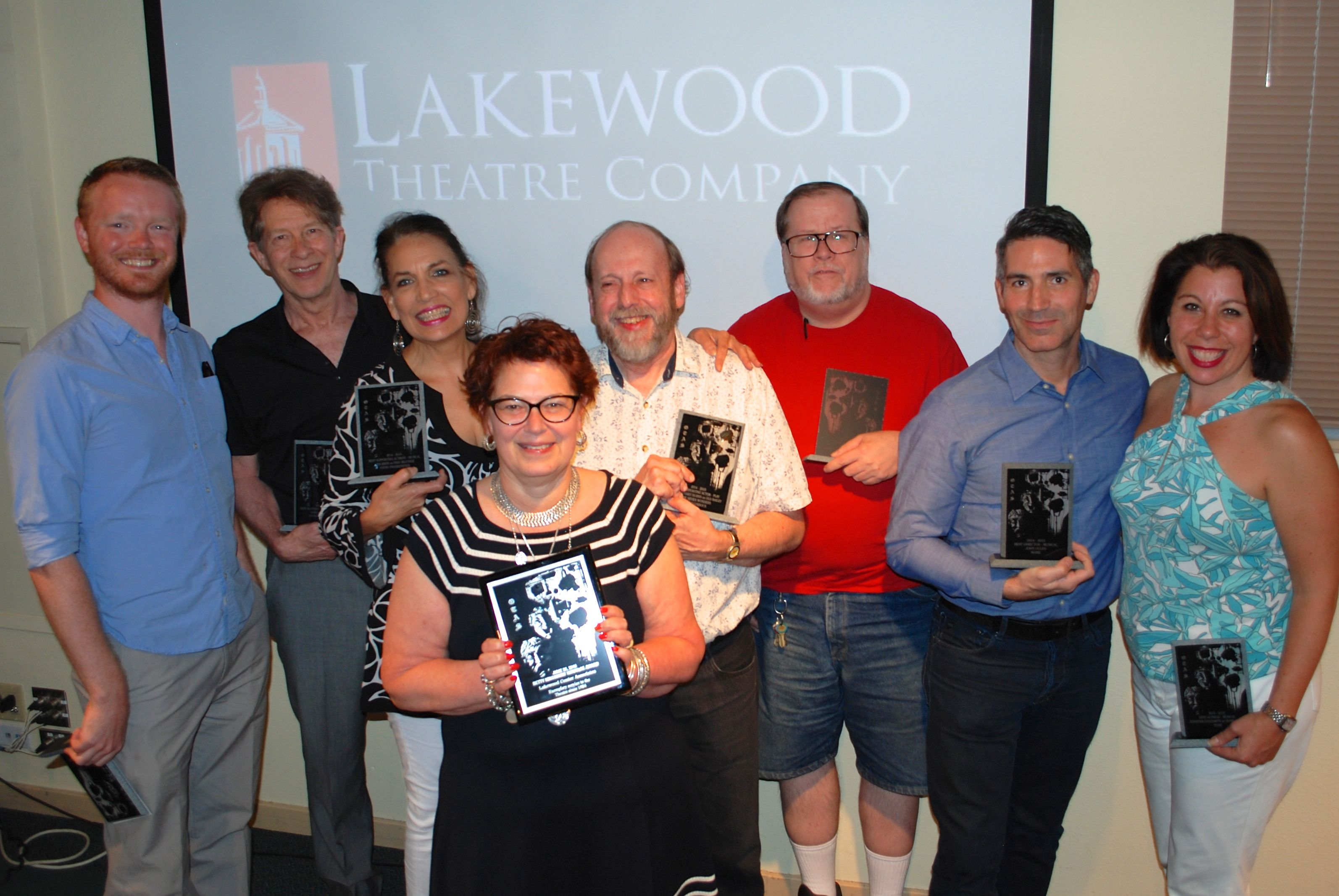 2015 OTAS Winners at Lakewood Theatre Company
