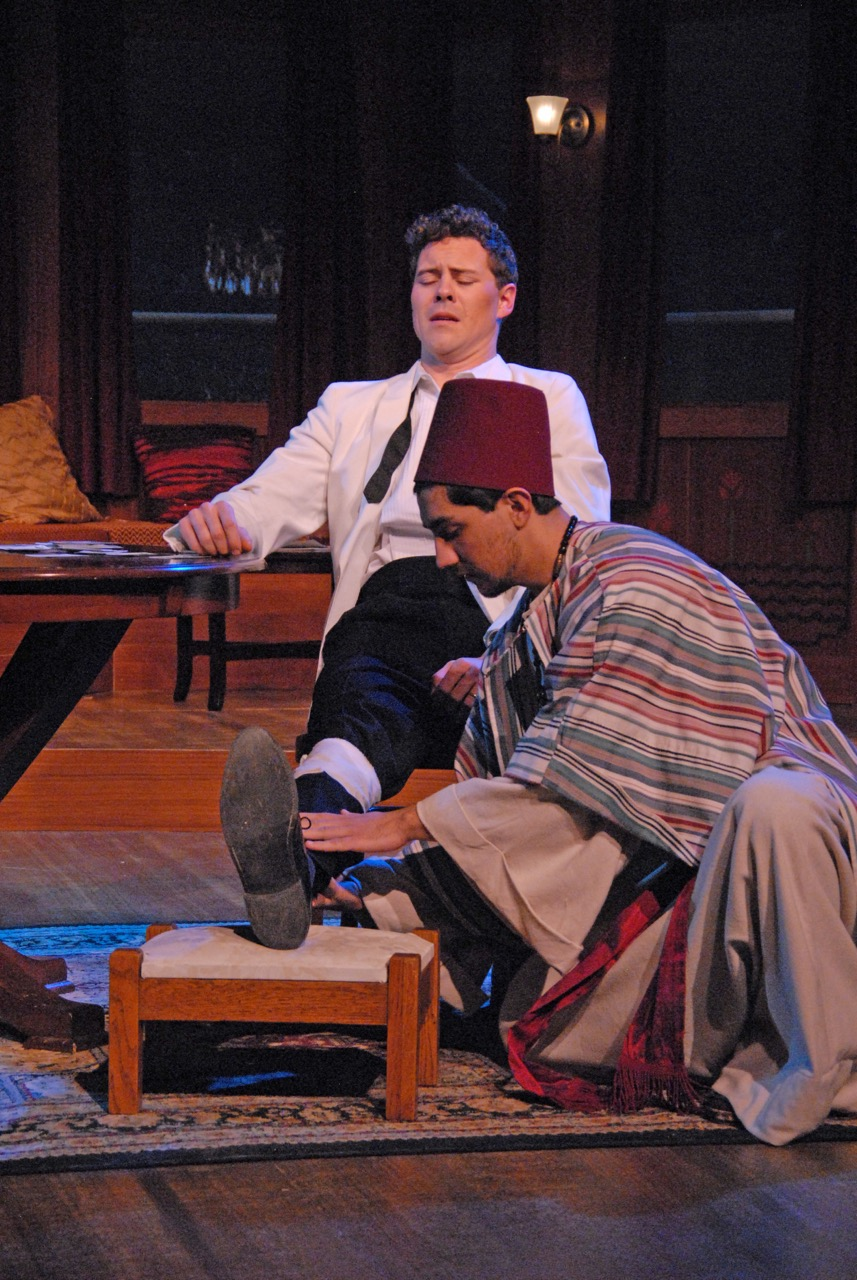 Agatha Christie's Murder on the Nile at Lakewood Theatre Company, Lake Oswego, Oregon