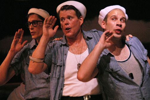 Sailors in South Pacific at Lakewood Theatre Company, Sept 7 - Oct 14, 2012