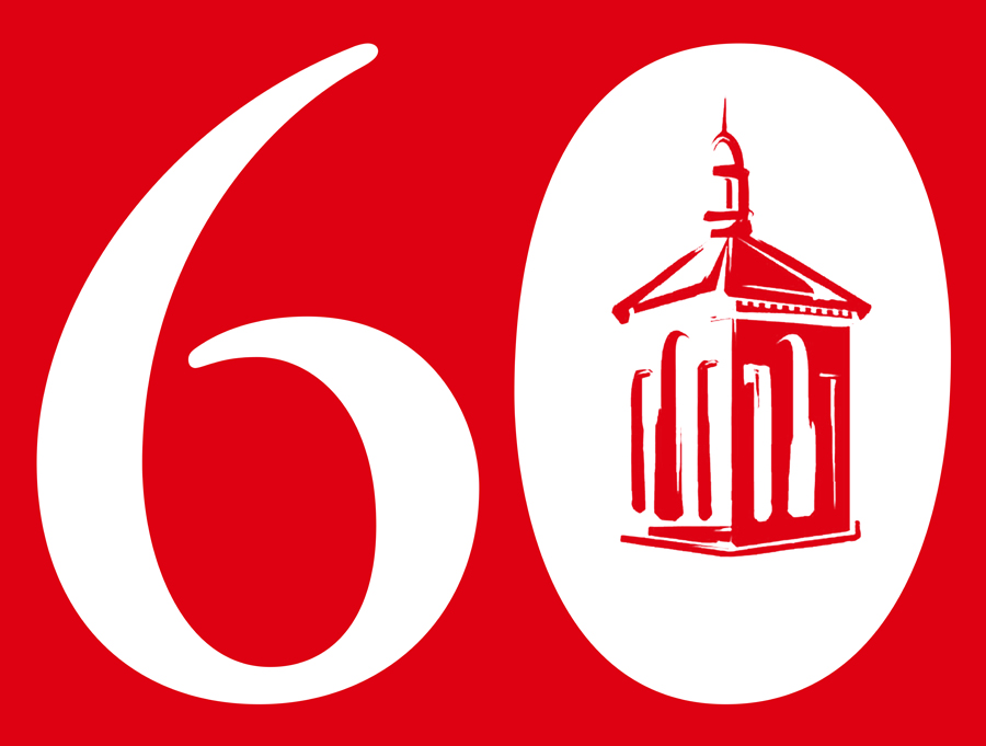 60th anniversary logo for Lakewood