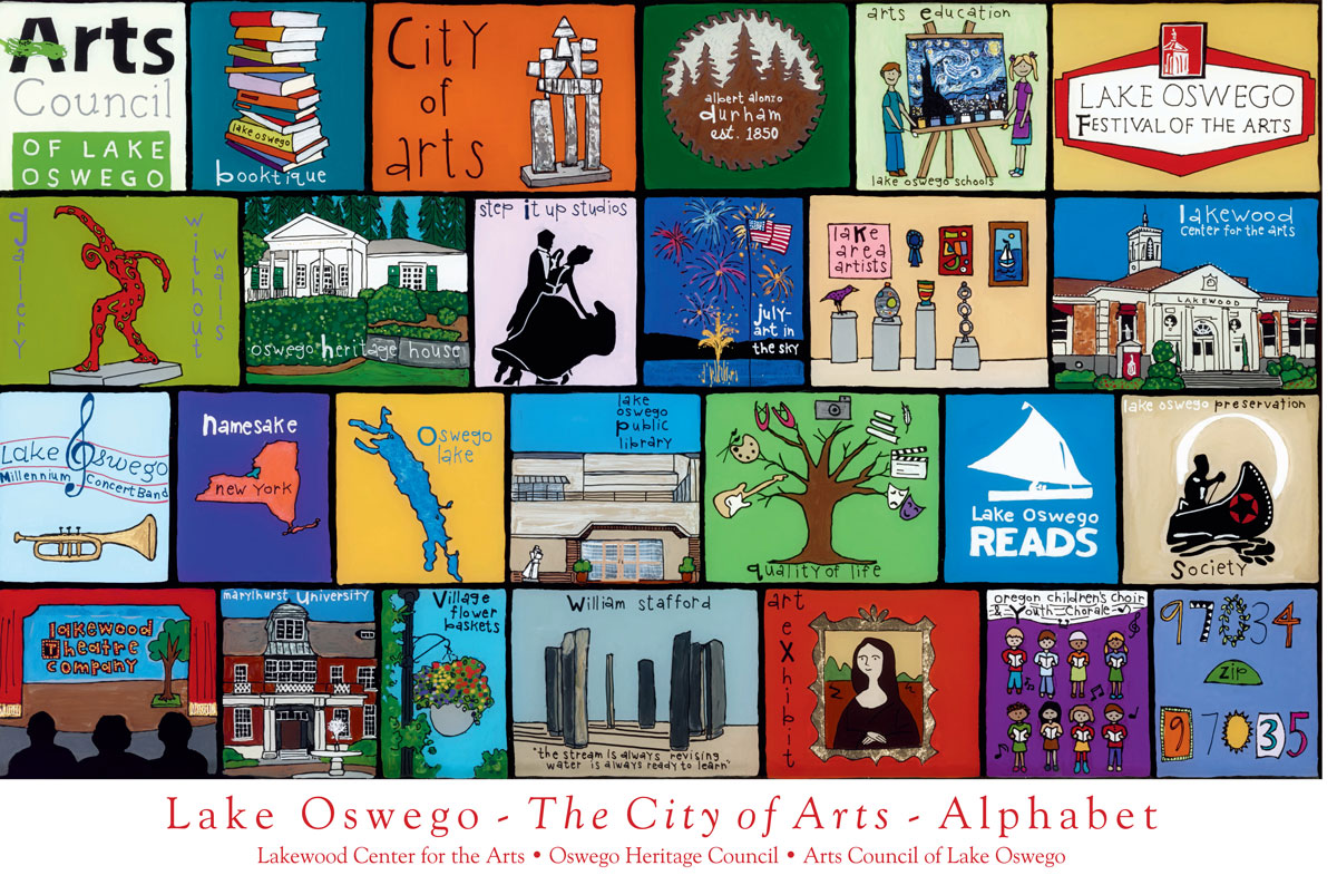 Alphabet Project - The City of Arts in Lake Oswego