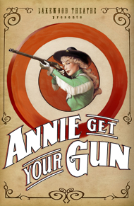Annie Get Your Gun at Lakewood logo