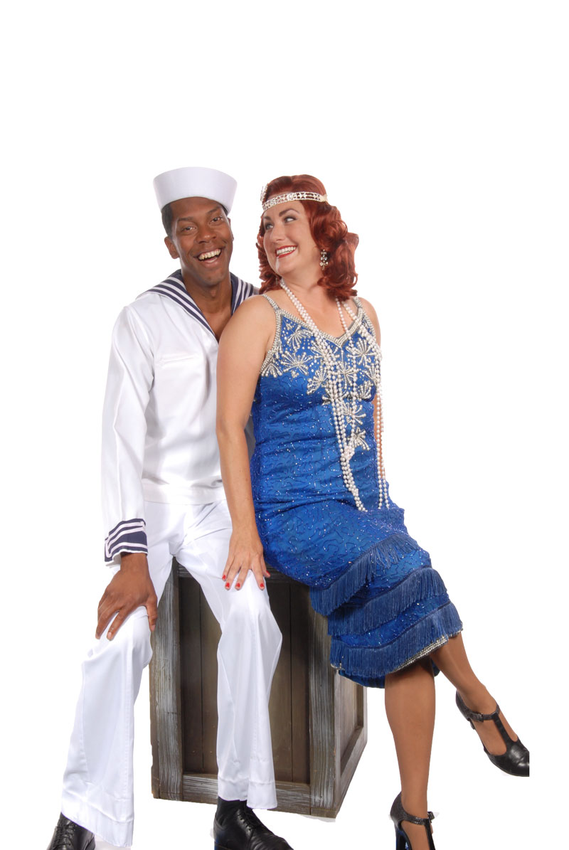 Brian Demar Jones and Amy Halliday in Anything Goes