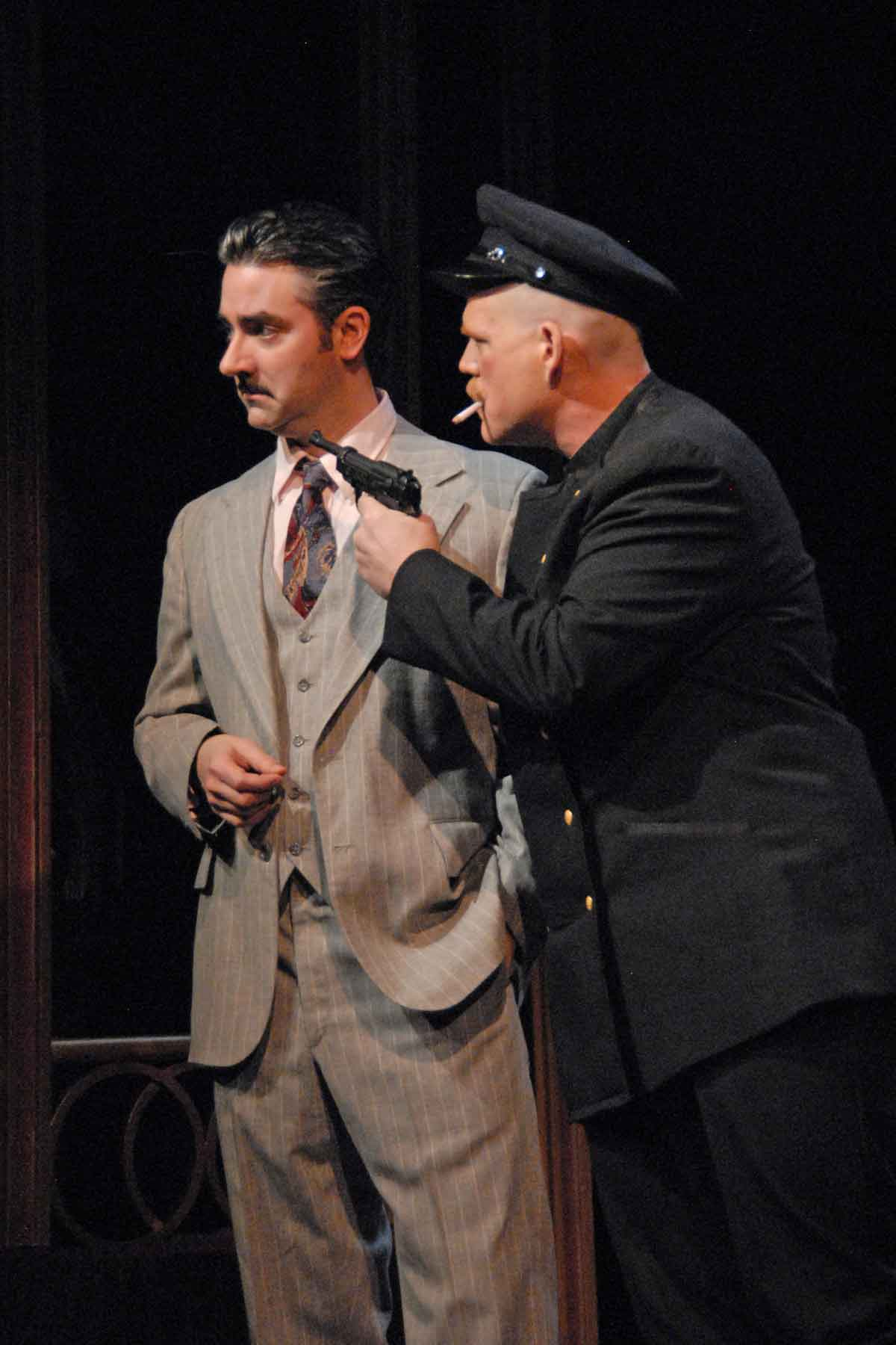 Matthew Haywood and Brandon B. Weaver in Grand Hotel