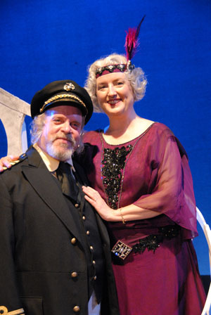 Jay Pevney and Debbie Domby-Hood in Show Boat, Lakewood Theatre Company, May 2 - June 8, 2014