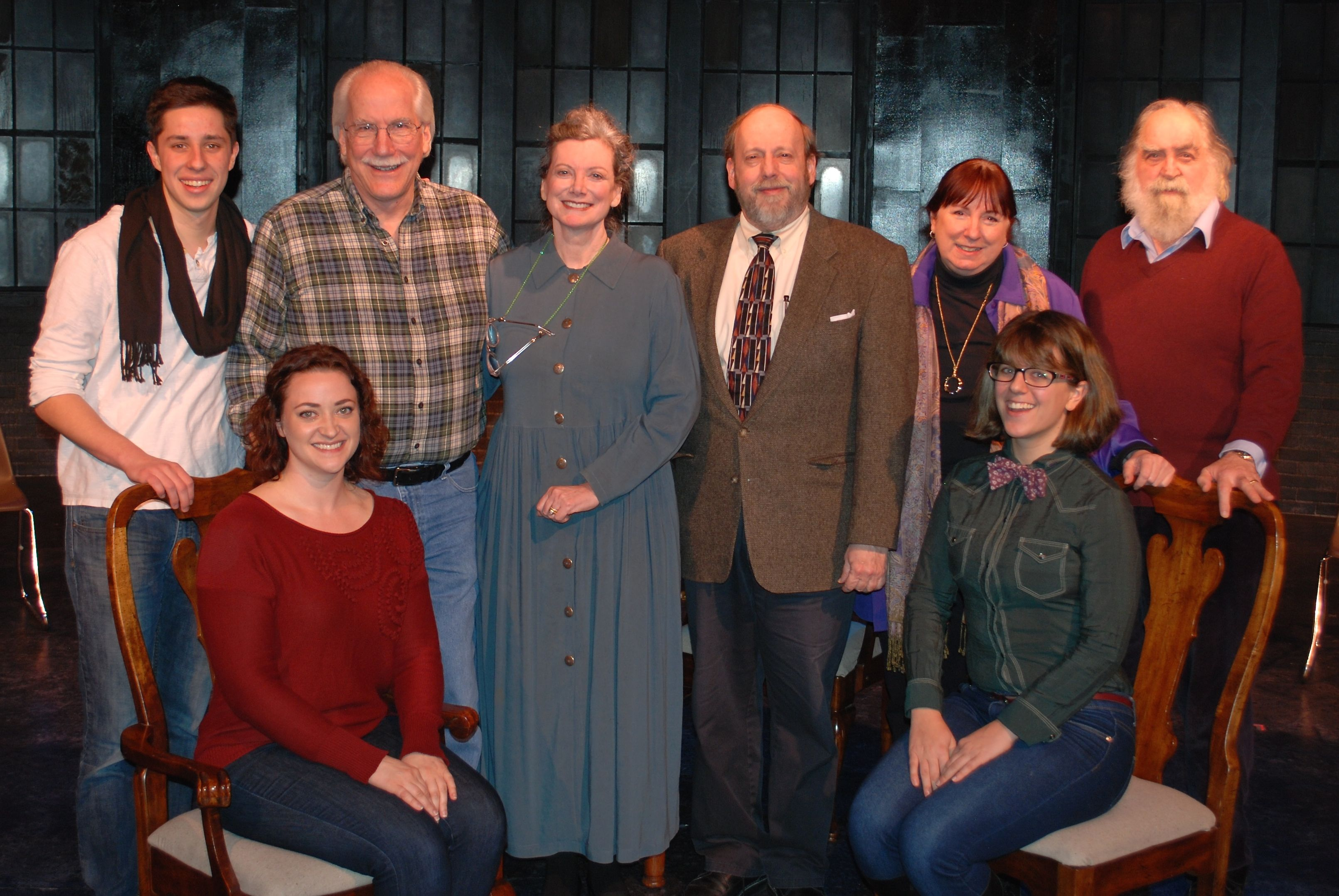 Under the Yew Tree cast at Lakewood Theatre Company, Jan 24, 2016