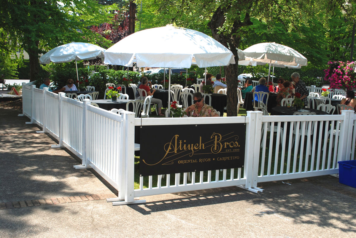 Atiyeh Bros Garen Cafe at the Lake Oswego Festival of the Arts