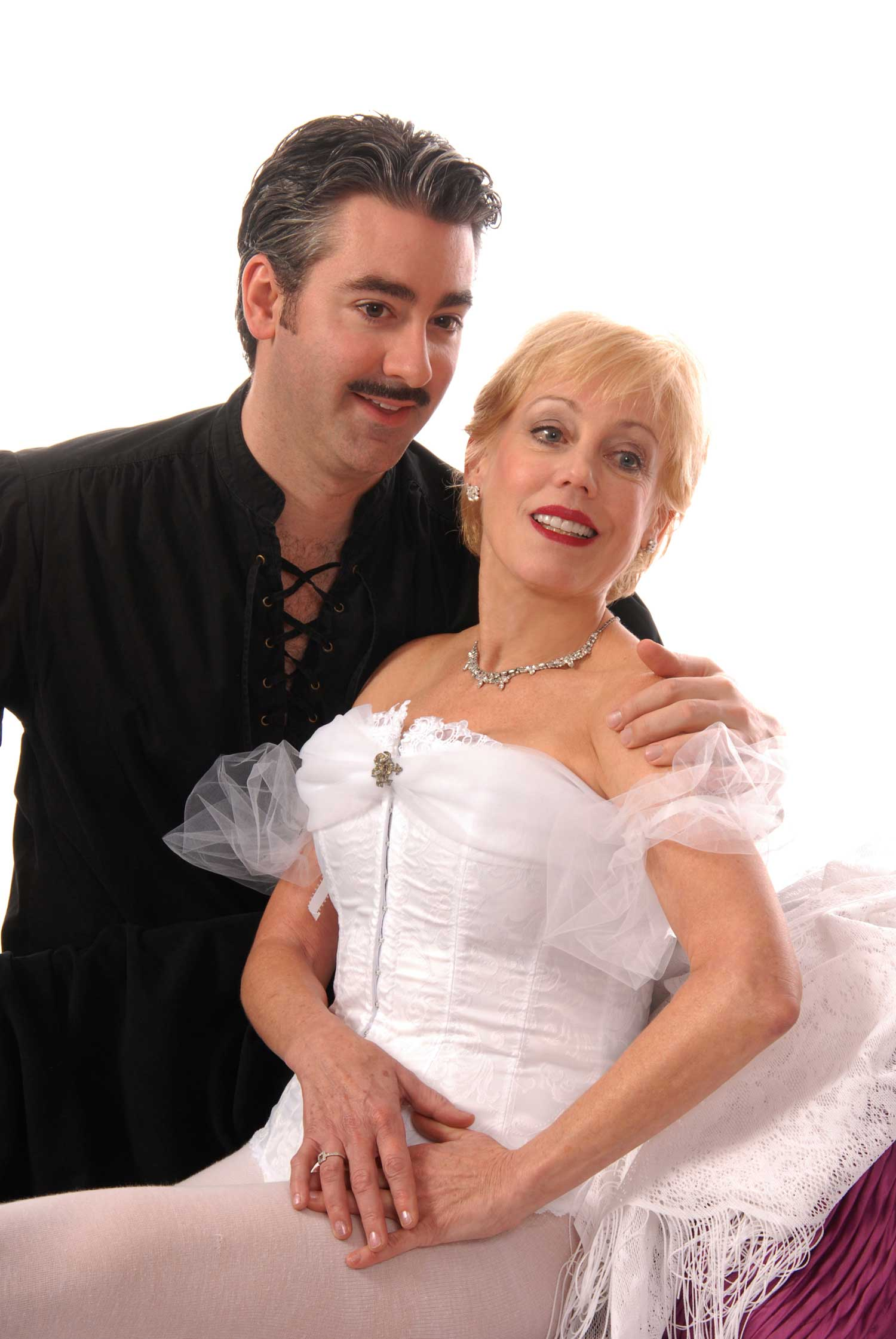 Matthew Hayward and Cherie Price in Grand Hotel at Lakewood Theatre Company, Jan 11 - Feb. 17, 2013