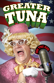 Greater Tuna at Lakewood Theatre Company July 12 - August 18, 2013