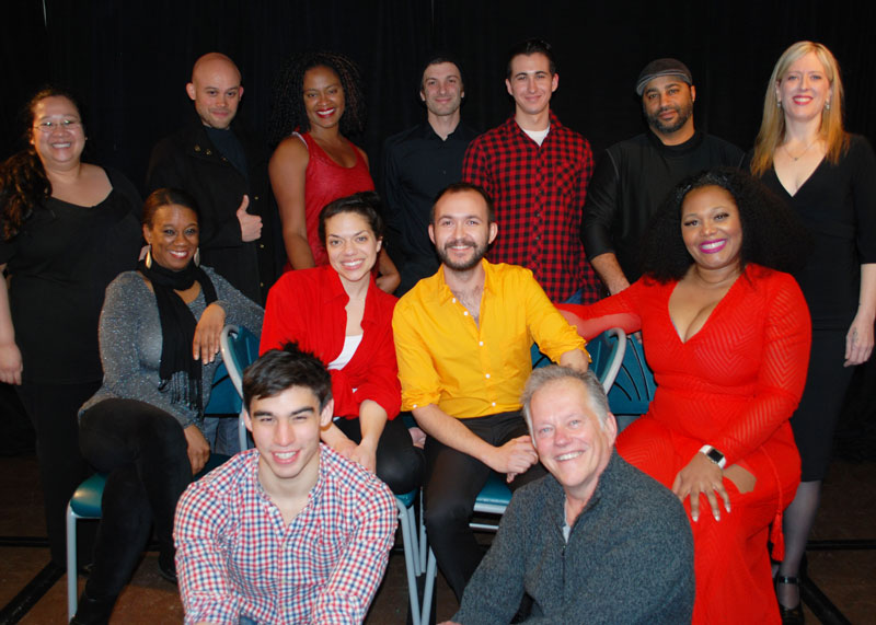 Cast of Jamaica at Lakewood Theatre Company, Feb. 19-20, 2016