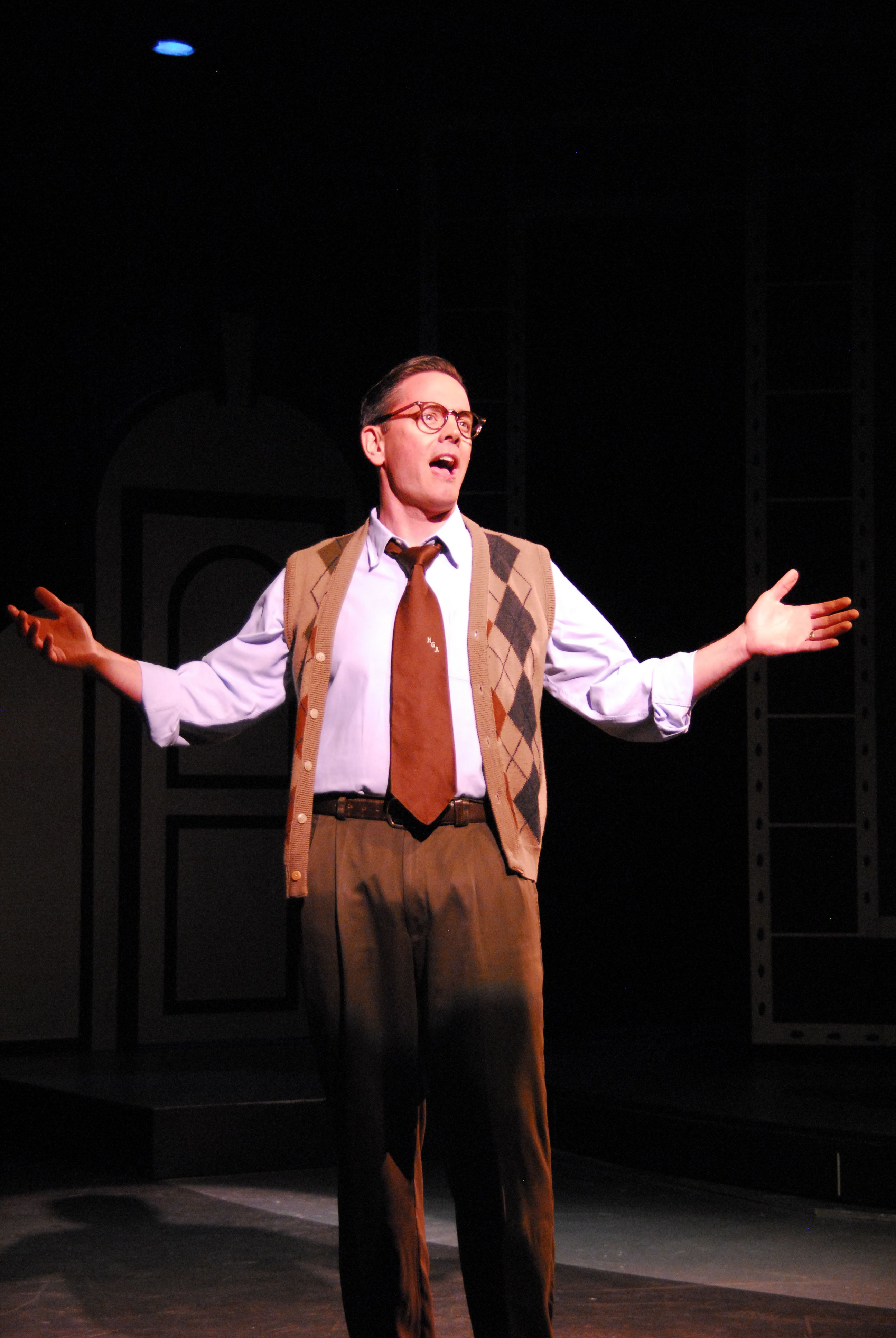 Kurt Raimer in City of Angels - Lakewood Theatre Company