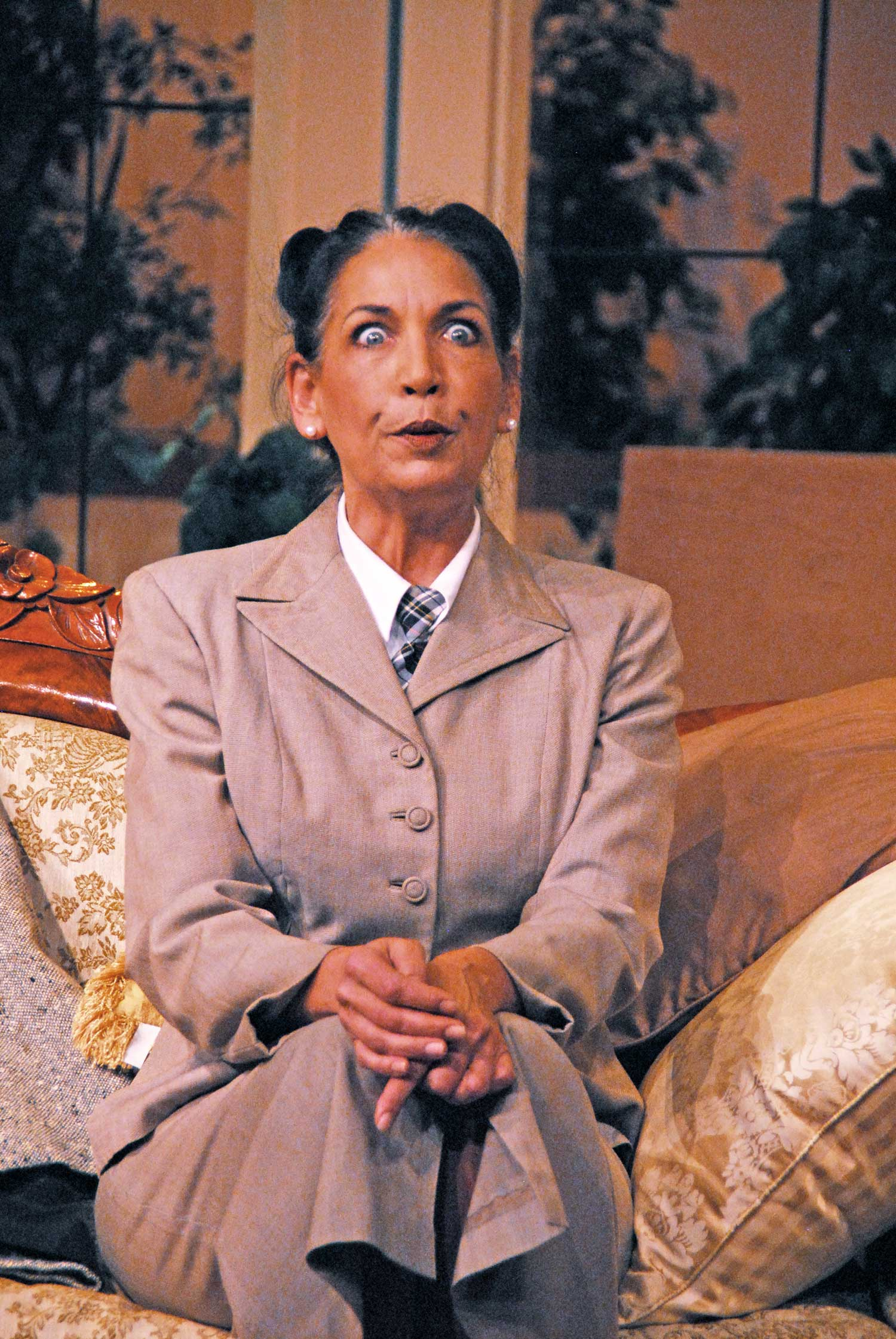 Lisa Olsen in See How They Run at Lakewood Theatre Company, May 4 - June 10, 2012