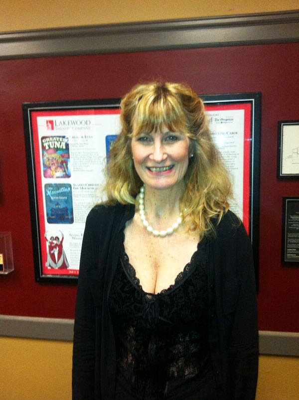 "Julie Michaels at staged reading of ""Till There Was You"" at Lakewood Theatre Company"