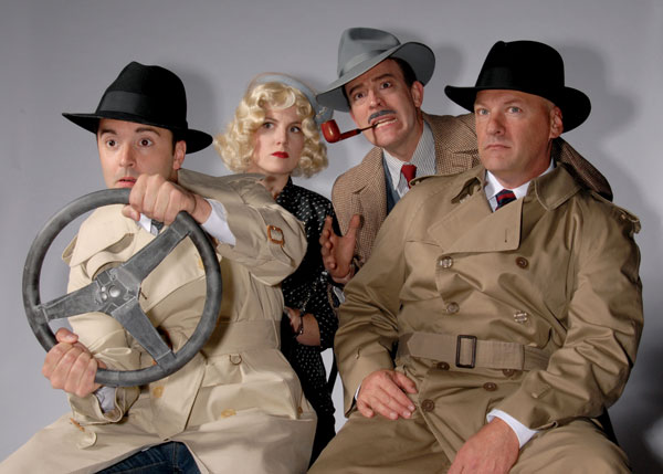 The 39 Steps at Lakewood Theatre Company, July 11 - August 17, 2014