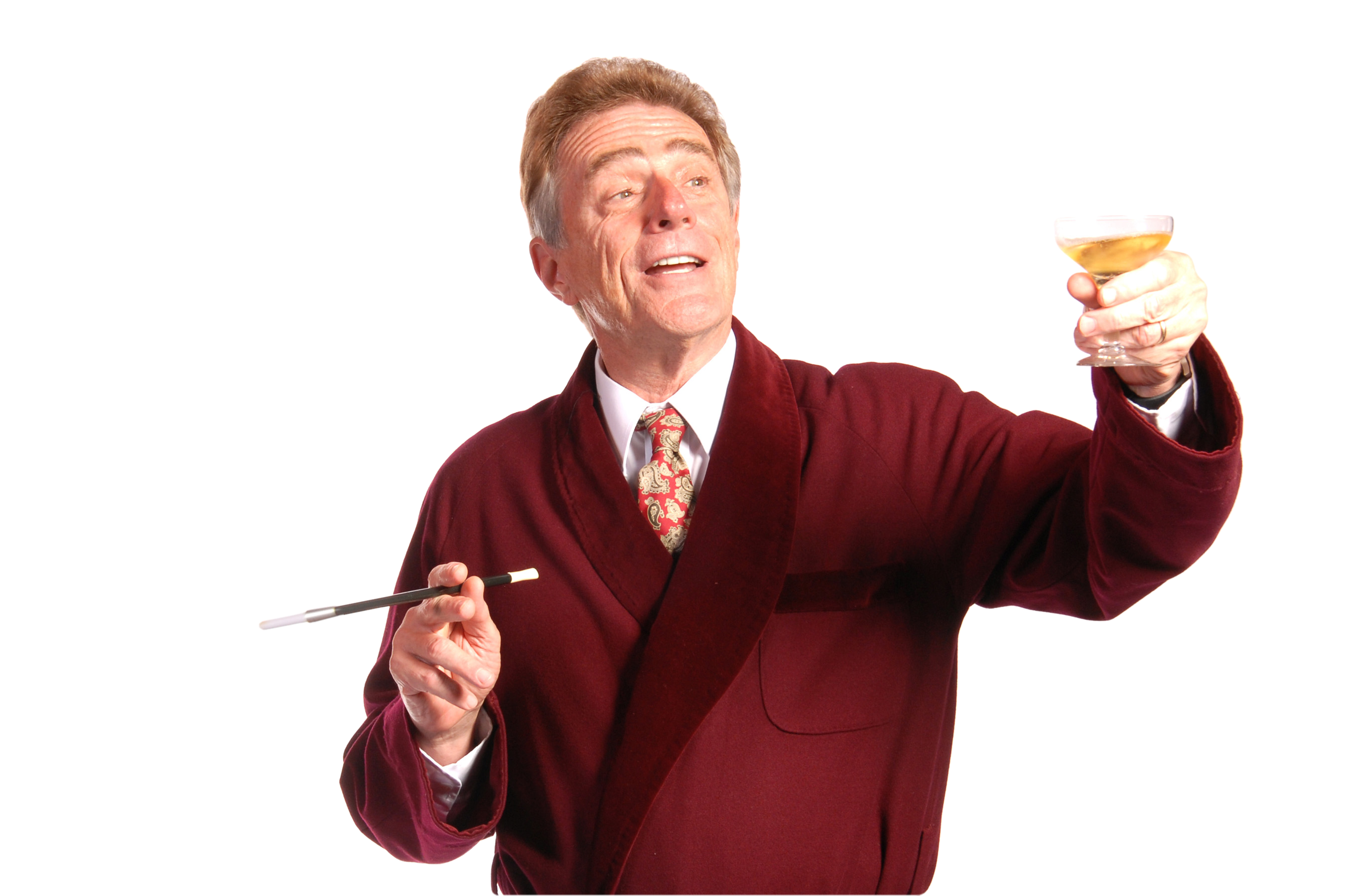 Gary Powell as Garry Essendine in Present Laughter, Lakewood Theatre Company Nove 6 - Dec 13, 2015