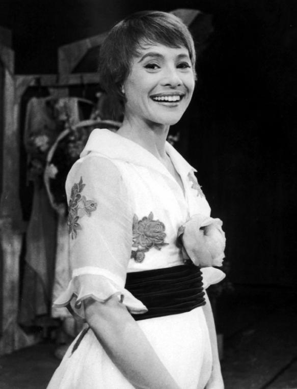 Pat Stanley in the Broadway production of Goldilocks, 1958