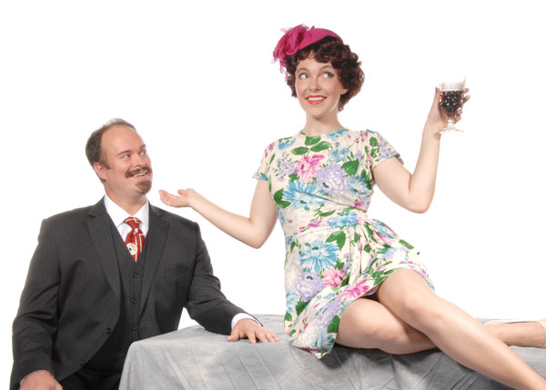 Cassi Q. Kohl and Stacey Murdock in She Loves Me at Lakewood Theatre Company, Nov. 7 - Dec. 21, 2014