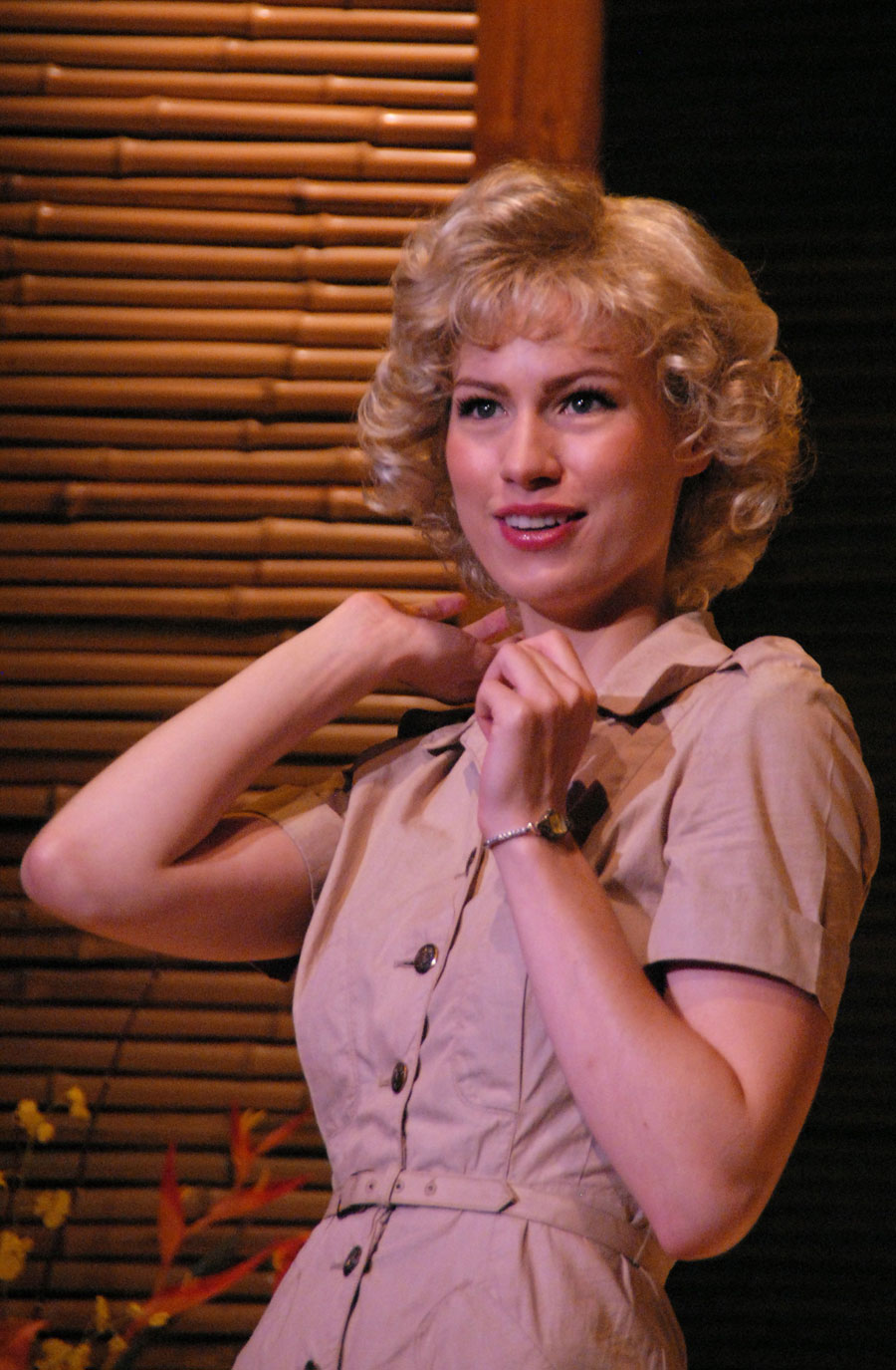 Stephanie K. Leppert in South Pacific at Lakewood Theatre Company, Sept 7 - Oct 14, 2012