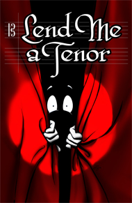 Lend Me A Tenor logo at Lakewood