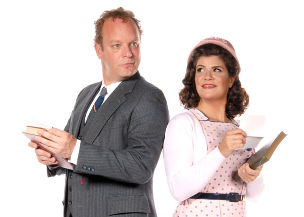 Paul Angelo and Dru Rutledge in She Loves Me, Nov. 7 - Dec. 21, 2014 at Lakewood Theatre Company