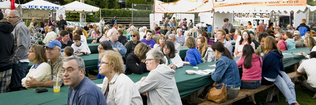 Food at the 2012 Lake Oswego Festival of the Arts