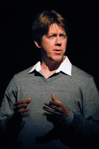 David Knell in ART at Lakewood Theatre Company